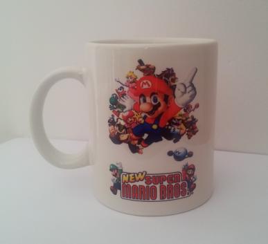 Caneca Mario Bros Time 3